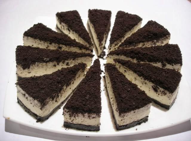 Resepi Oreo Cheese Cake Simple Oreo Cheesecake Oreo Cream Cheese Recipes