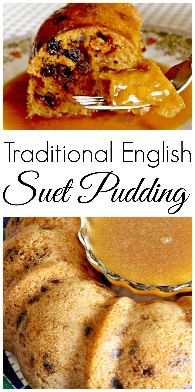 Traditional Christmas Dessert: Suet Pudding - C'mo
