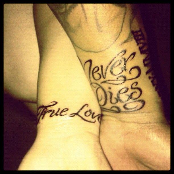 True Love Never Dies Wrist Tattoo | www.pixshark.com ...