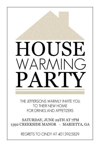 Housewarming Party Invite Idea Housewarming Invitation Templates House Warming Invitations Housewarming Party Invitations