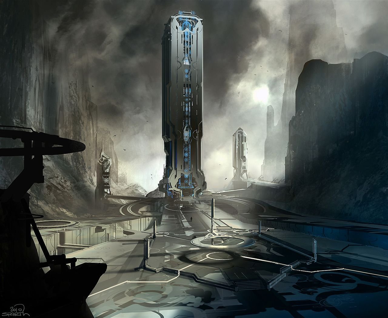 halo 4 - early 2010 forerunner architecture concept. microsoft - 343