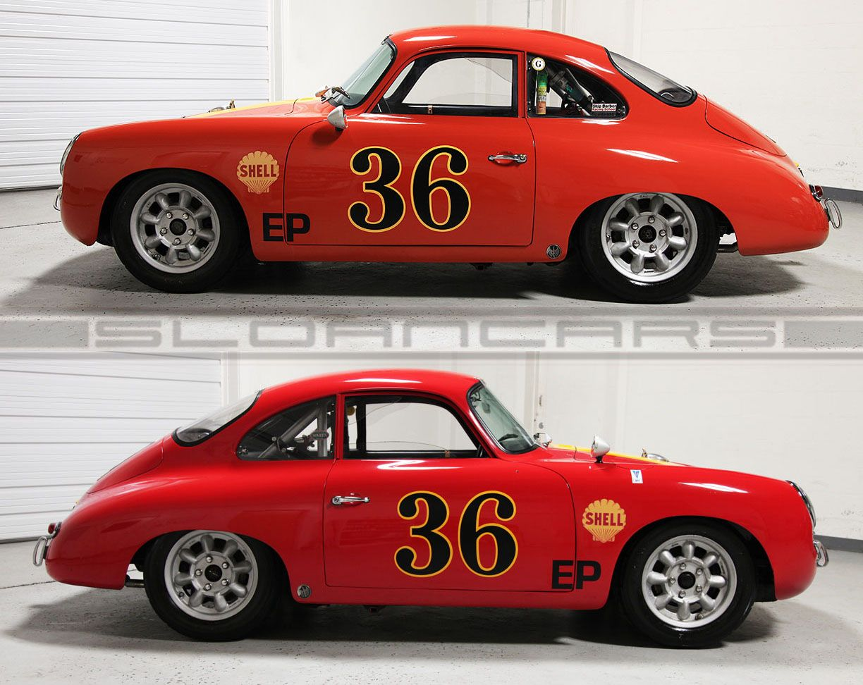 1965 Porsche 356 Sc Outlaw Coupe Street Race For Sale