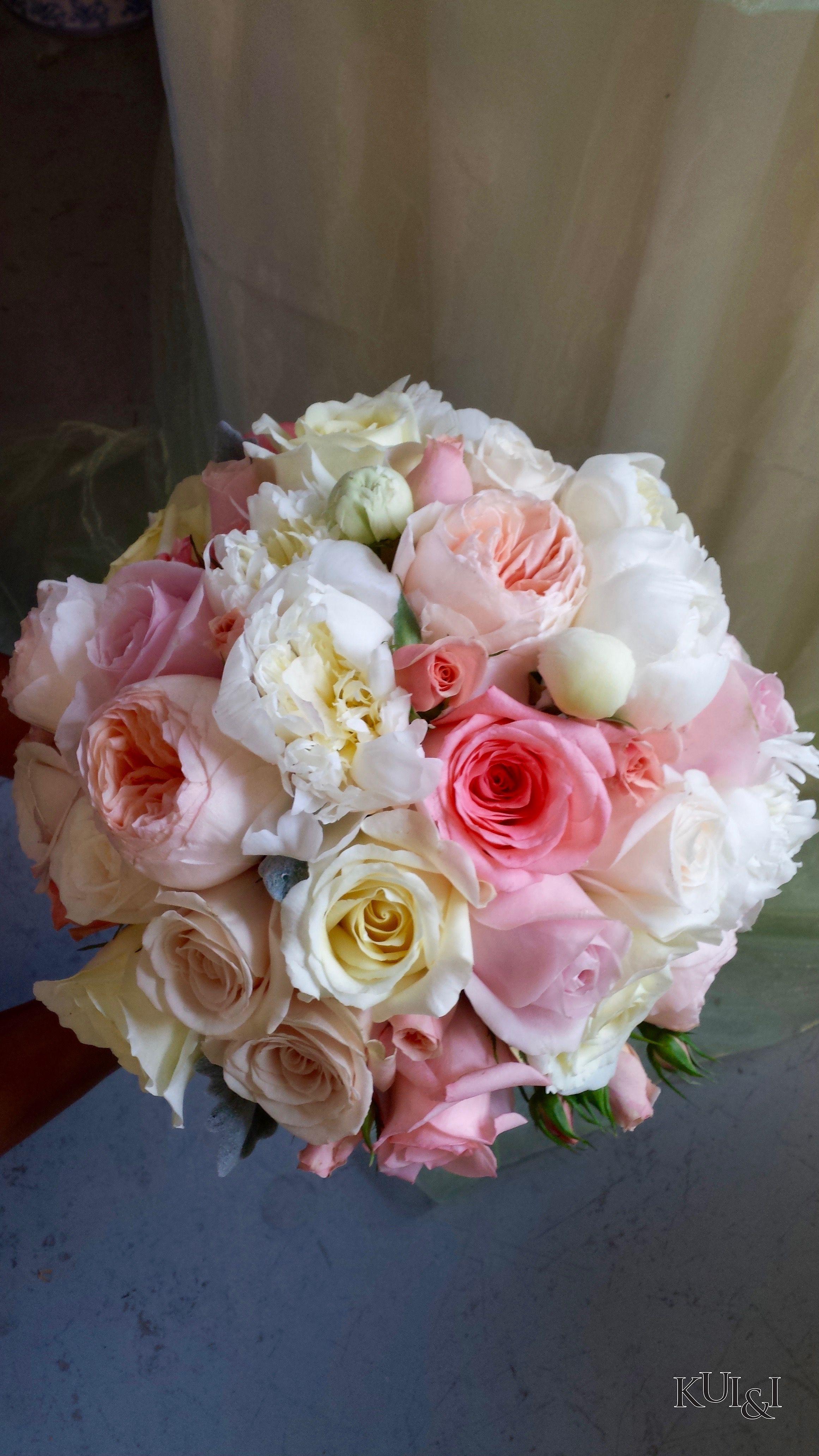 Soft Pastel Wedding Bouquet Kui I Florist Llc Hilo Hawaii