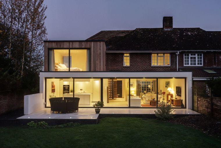 Photo extension maison design  8 projets d\u0027architecte Extensions