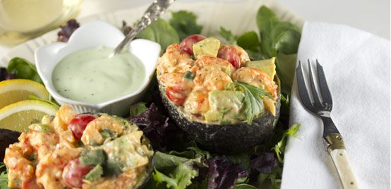 Taste Lafayette Crawfish Stuffed Avocado Recipe | Lafayette Convention & Visitors Commission
