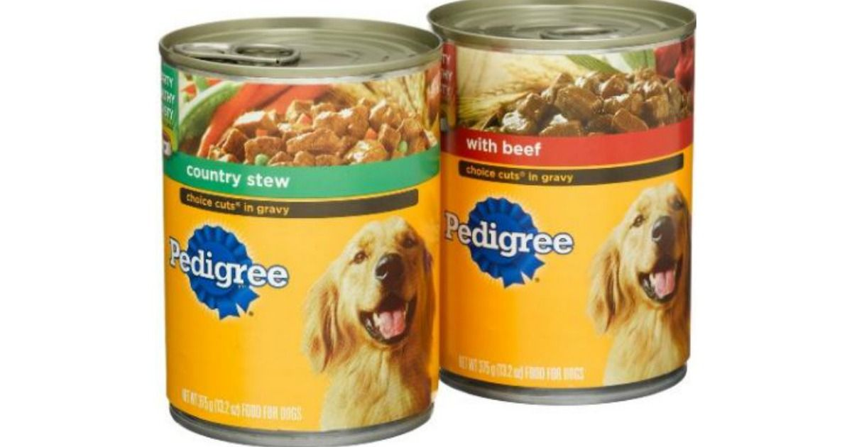 Hurry Free Pedigree Wet Dog Food Today Only Free Stuff