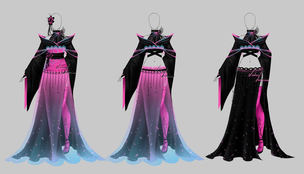 Outfit design - 184 - closed by LotusLumino on DeviantArt