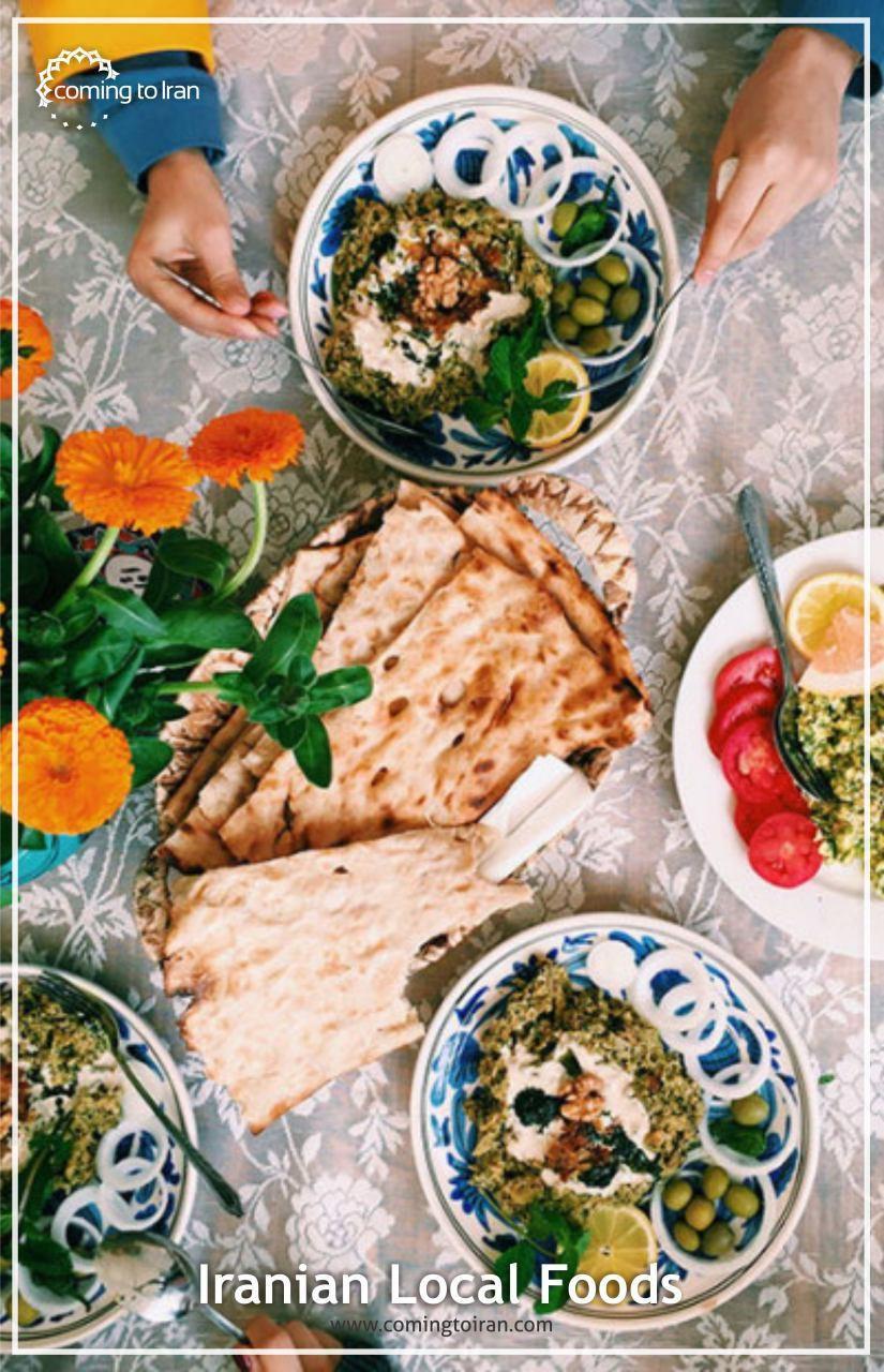 Iranian Local Food Tasty Travel To Iran With Us Http Comingtoiran Com Persian Cuisine Iranian Cuisine Persian Food
