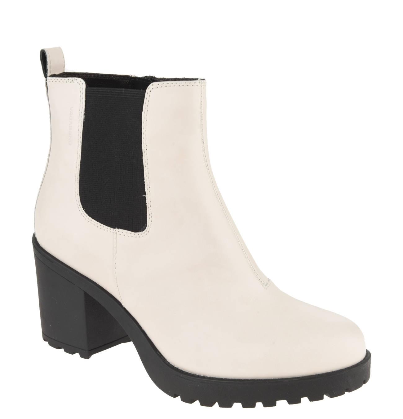 Chelsea Boots, Leder, Blockabsatz, Marken Prägung | Products