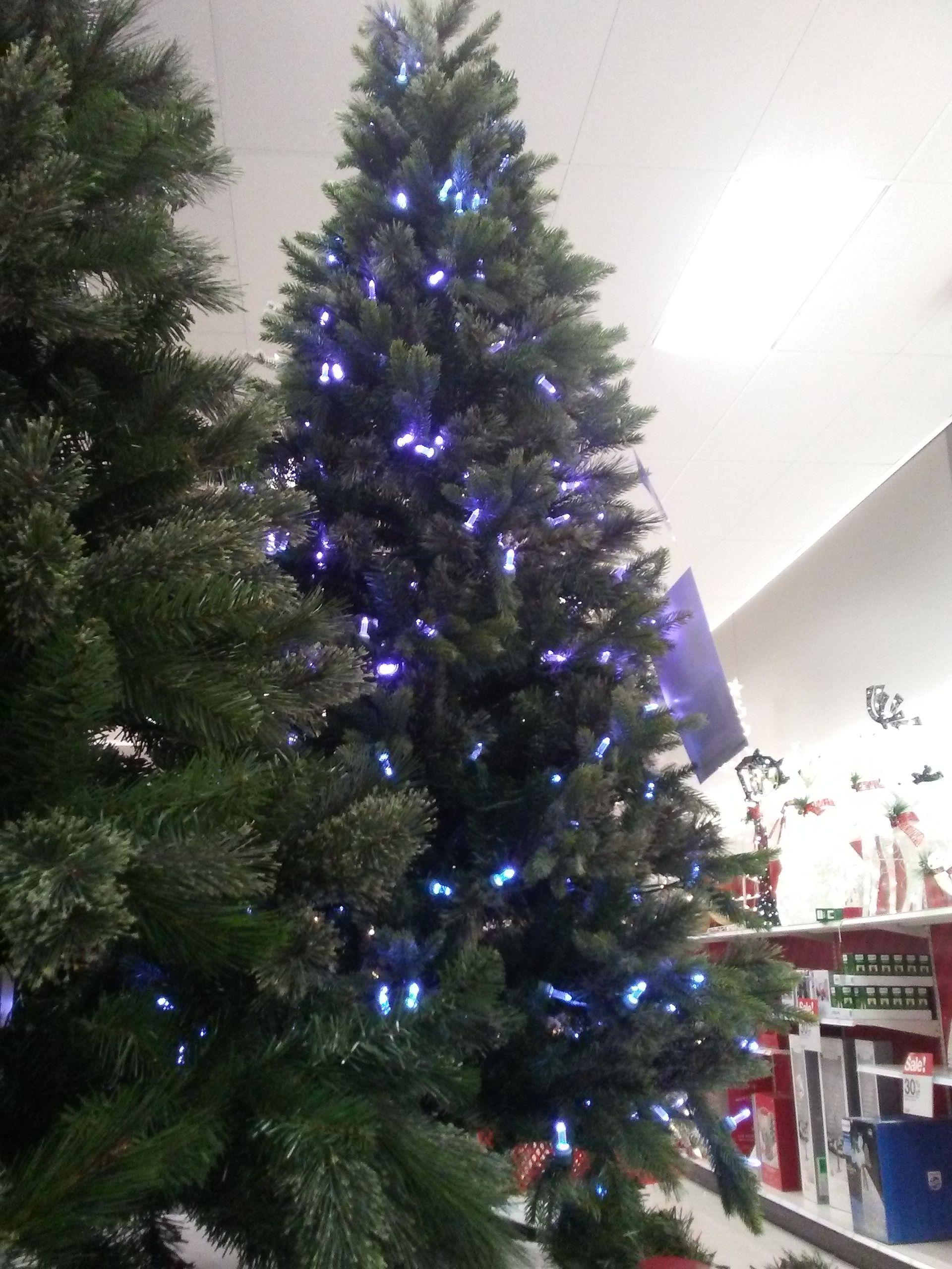 Dark Blue Christmas Tree Lights Target Blue Christmas Tree Christmas Themes Blue Christmas