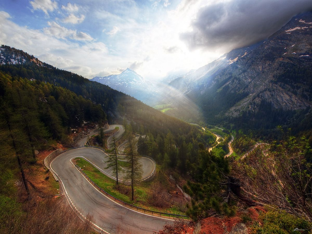 Picture of the Day: The Maloja Pass, Switzerland