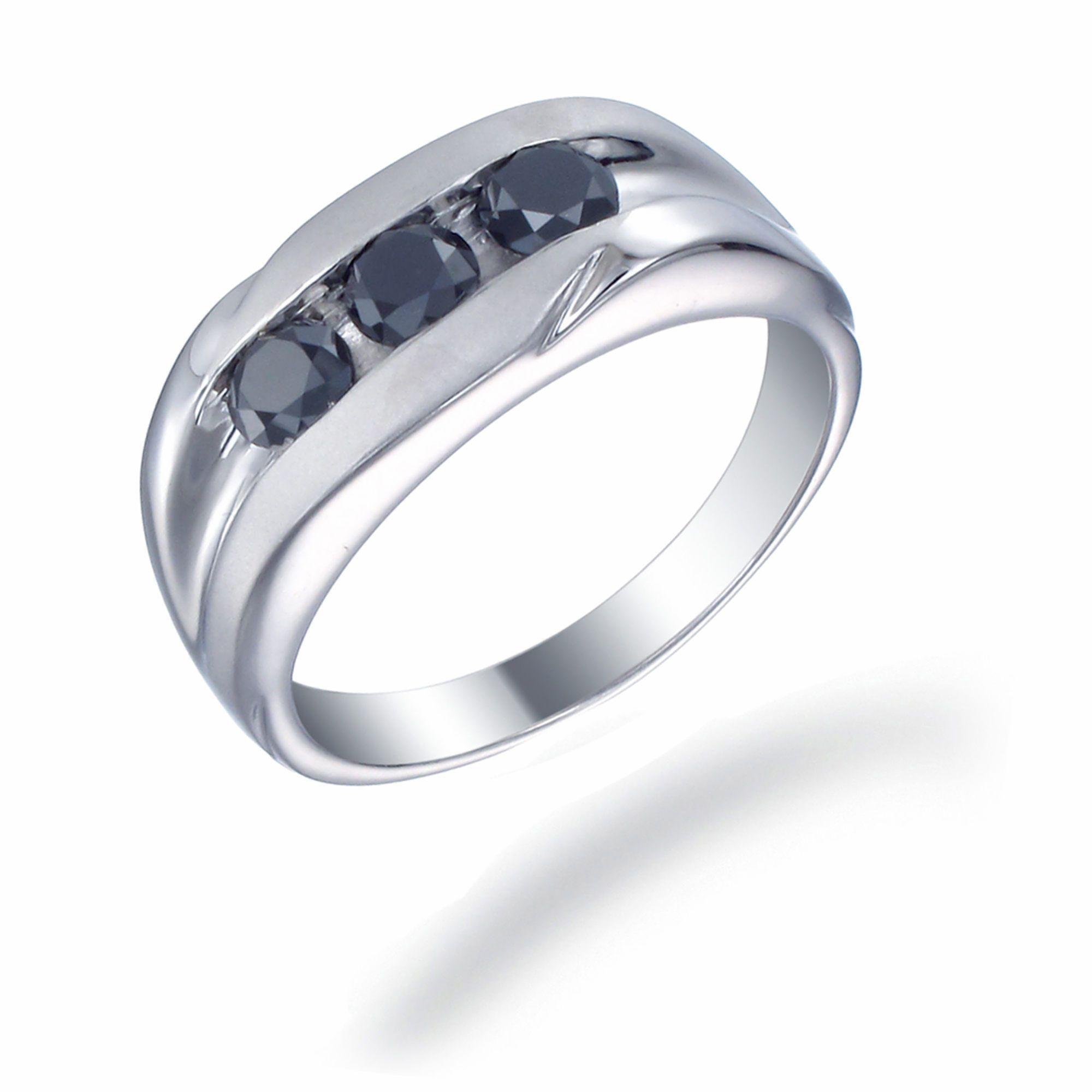 men ring flat 3 square stones google search ring