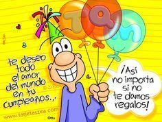 födelsedagskort skämt Feliz Cumpleaños archivos   Página 2 de 75   Imagenes Romanticas  födelsedagskort skämt