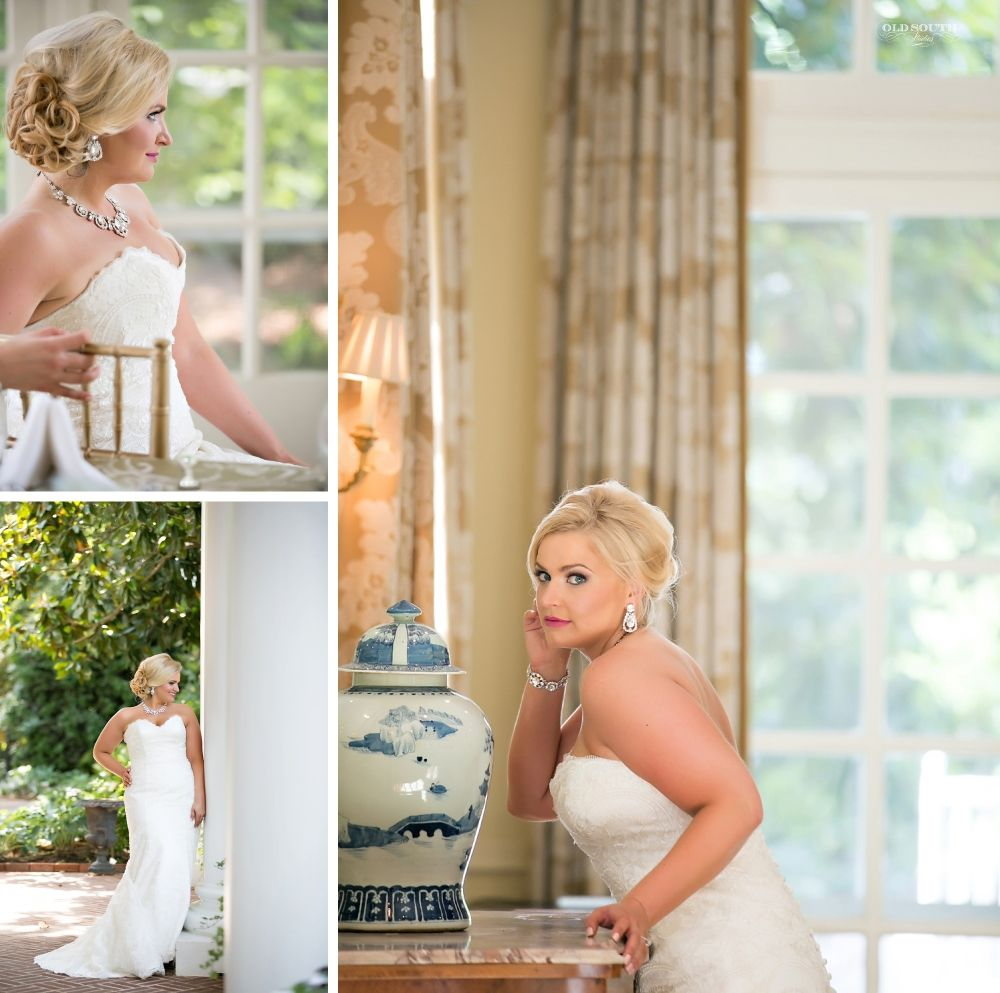 Laura's Bridal Session  The Duke Mansion   Charlotte, NC