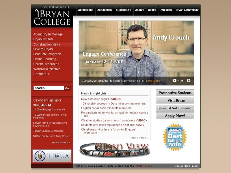 Bryan college bryan college tennessee colleges college
