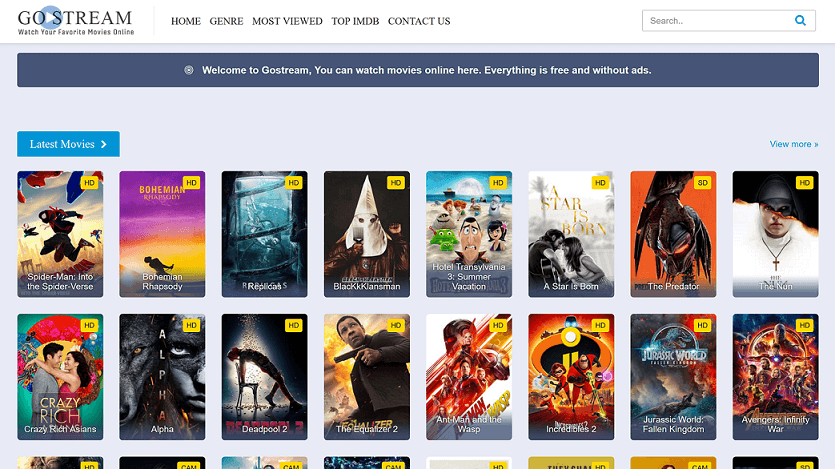Top website to watch movies and tv shows free 123movies