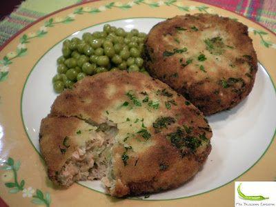 Mis Deliciosas Comiditas Salmon Potato Cakes Comida Croquetas De Patata Patatas