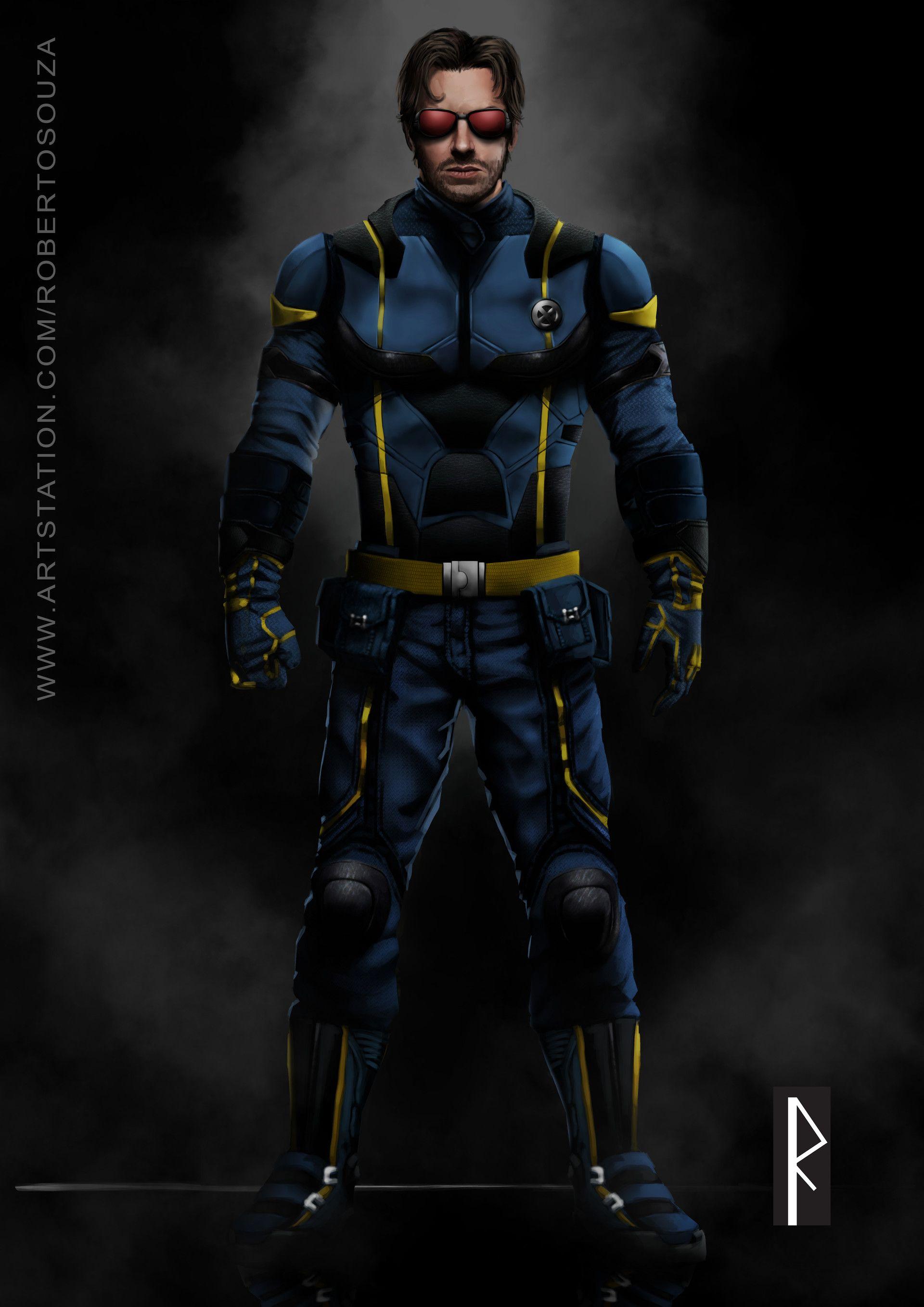 Artstation Armie Hammer As Mcu S Cyclops Roberto Souza