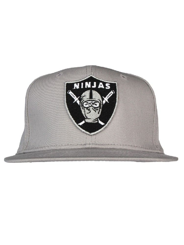 0e6d8591760 Rocksmith Clothing Ninja Crest Snapback Hat - Grey  30.00  rocksmith  ninjas