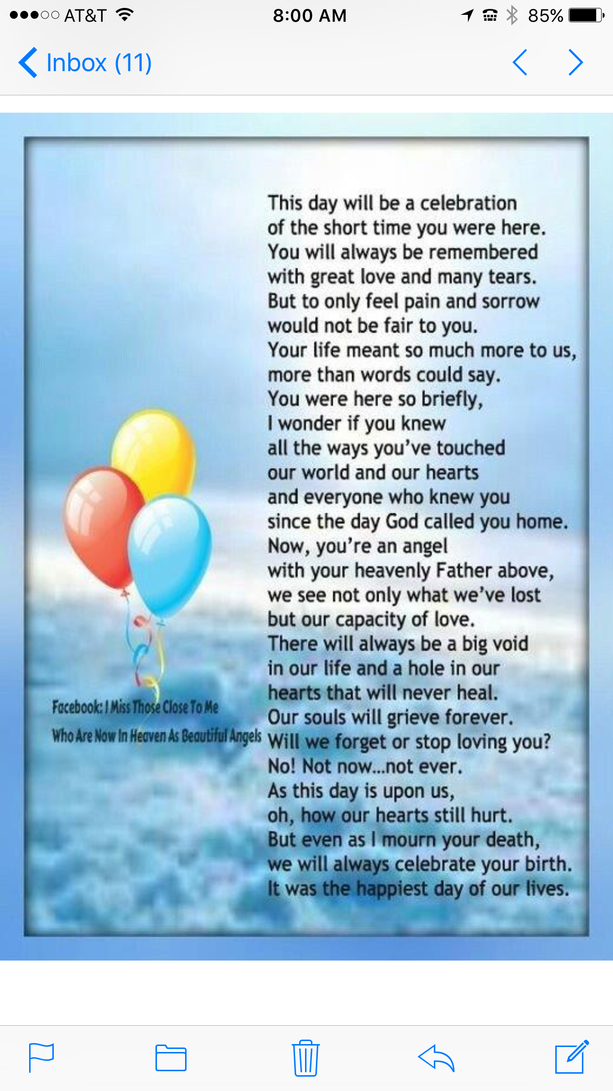 25 First Birthday In Heaven Quotes Best Quote Hd