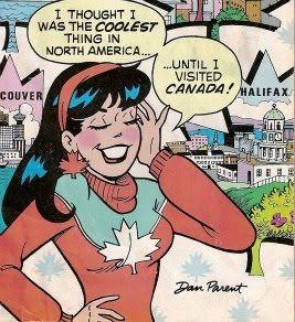 Archie Comics - Veronica in Canada