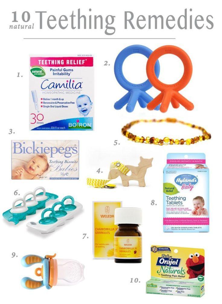 10 Natural Teething Remedies Baby teething symptoms