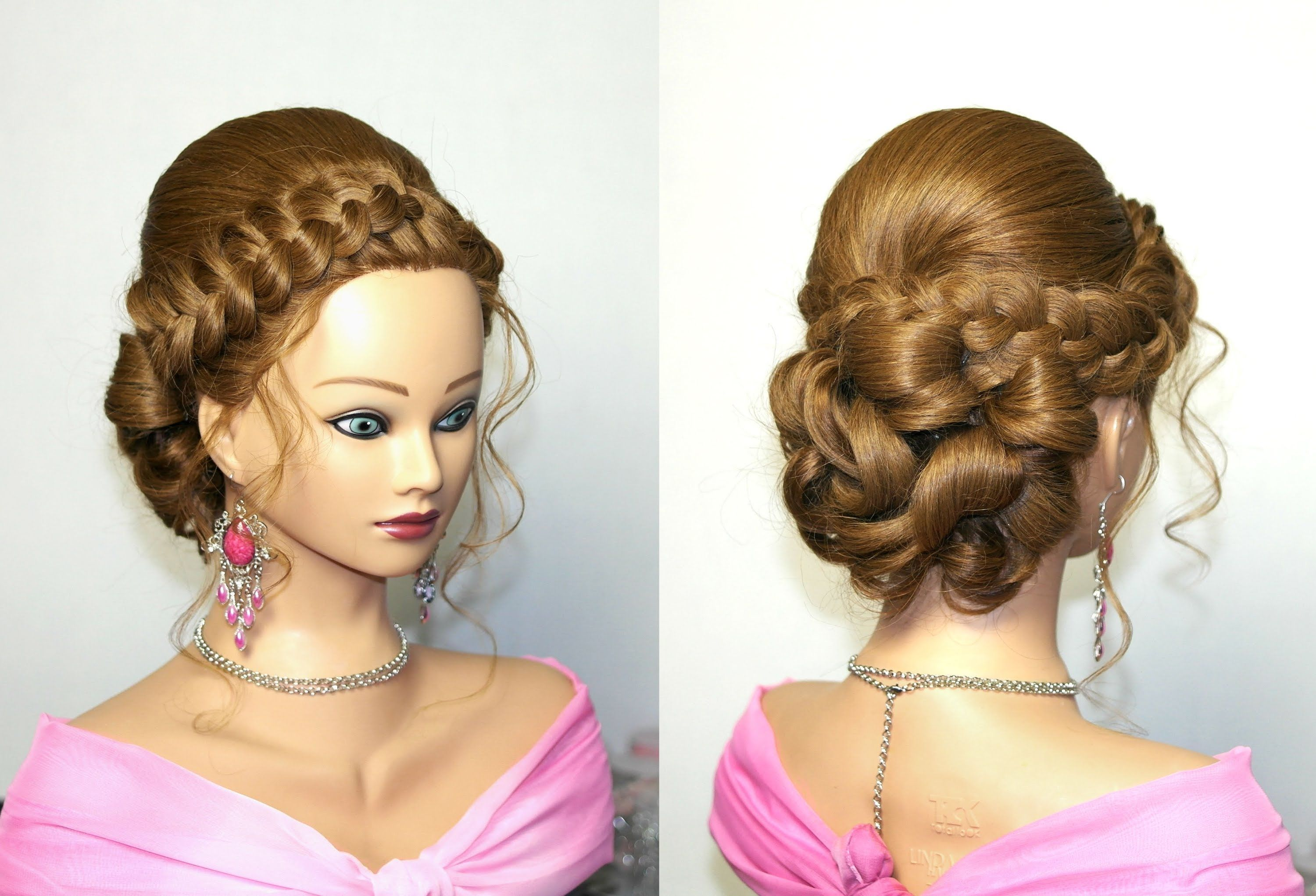 61 Braided Wedding Hairstyles: Wedding Prom Hairstyles For Long Hair, Updo Hairstyles