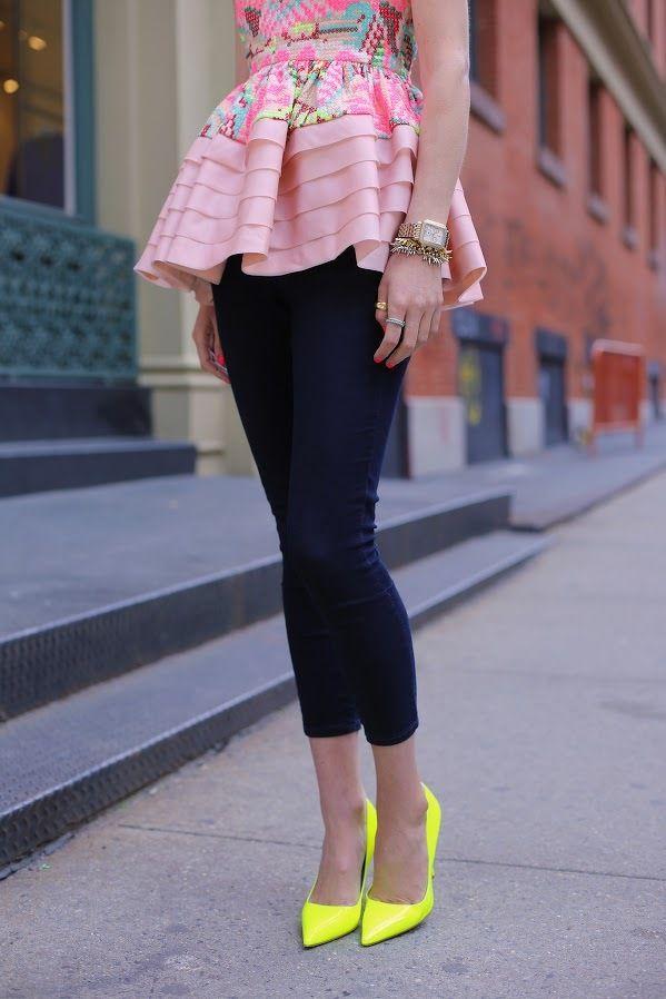 Pink #Dress & Blue #Pant