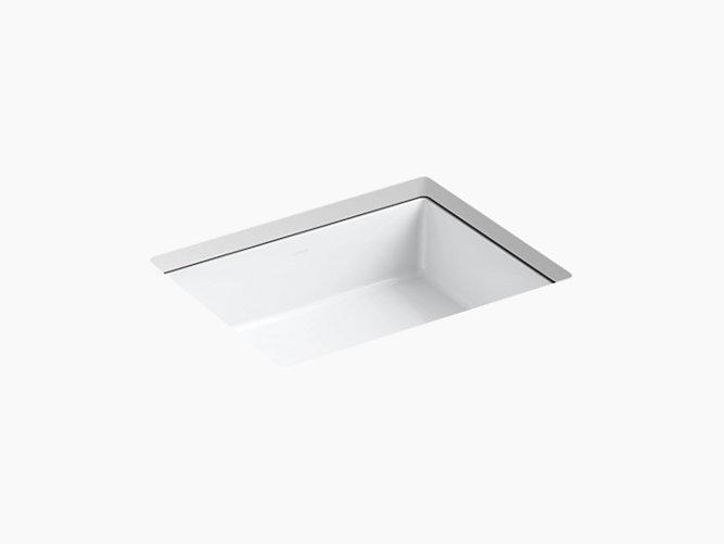 K 2882 Verticyl Undermount Rectangular Sink Kohler Rectangular Sink Sink Undermount Bathroom Sink