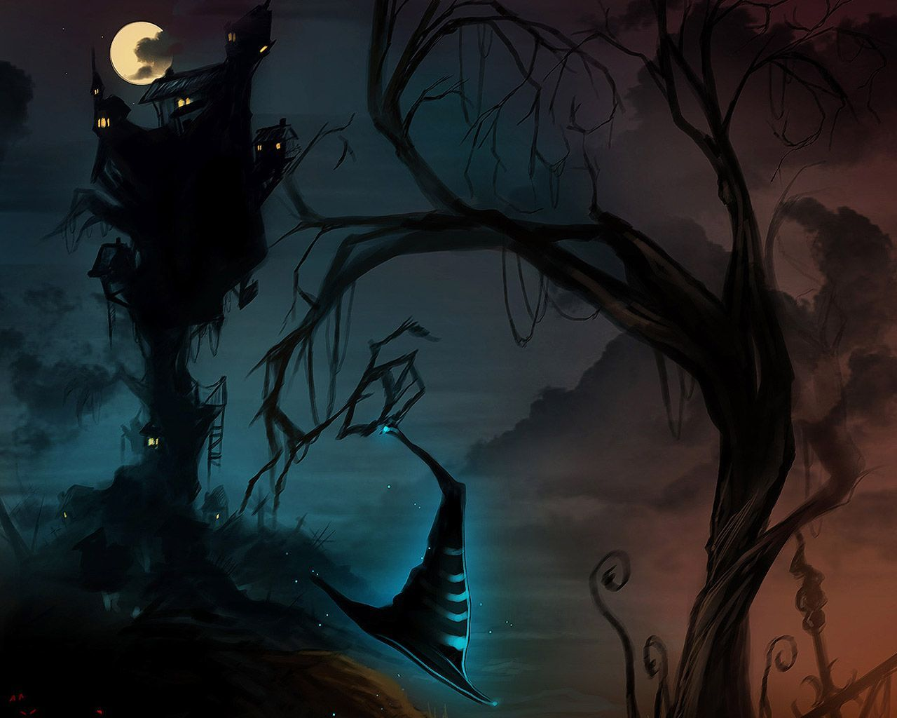 Halloween 2014 Wallpaper Free Scary Halloween Backgrounds ...
