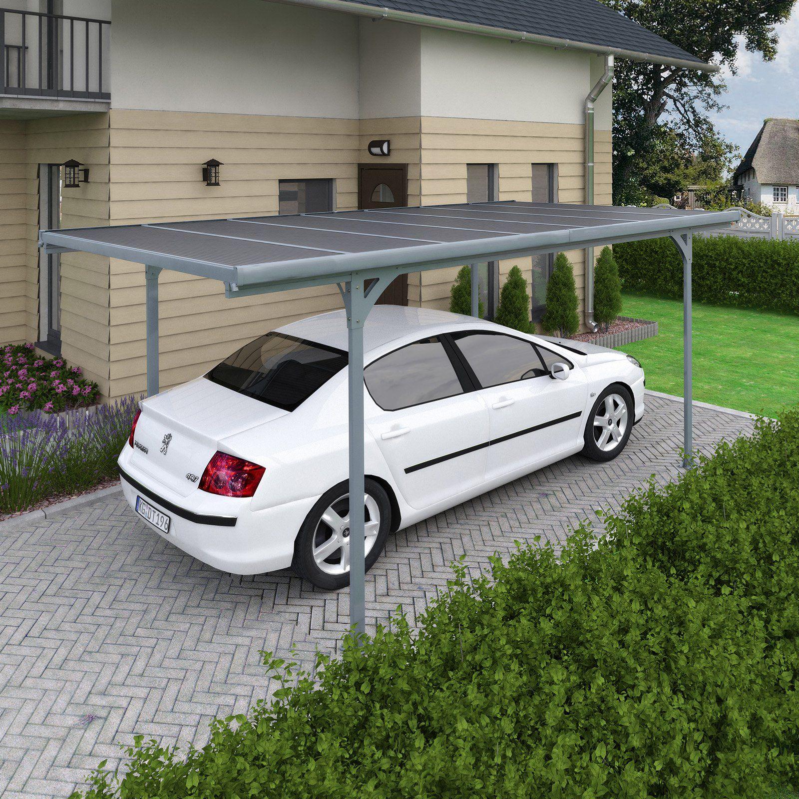 Palram Verona 9 76 X 16 41 Ft Carport Contractors Would Have