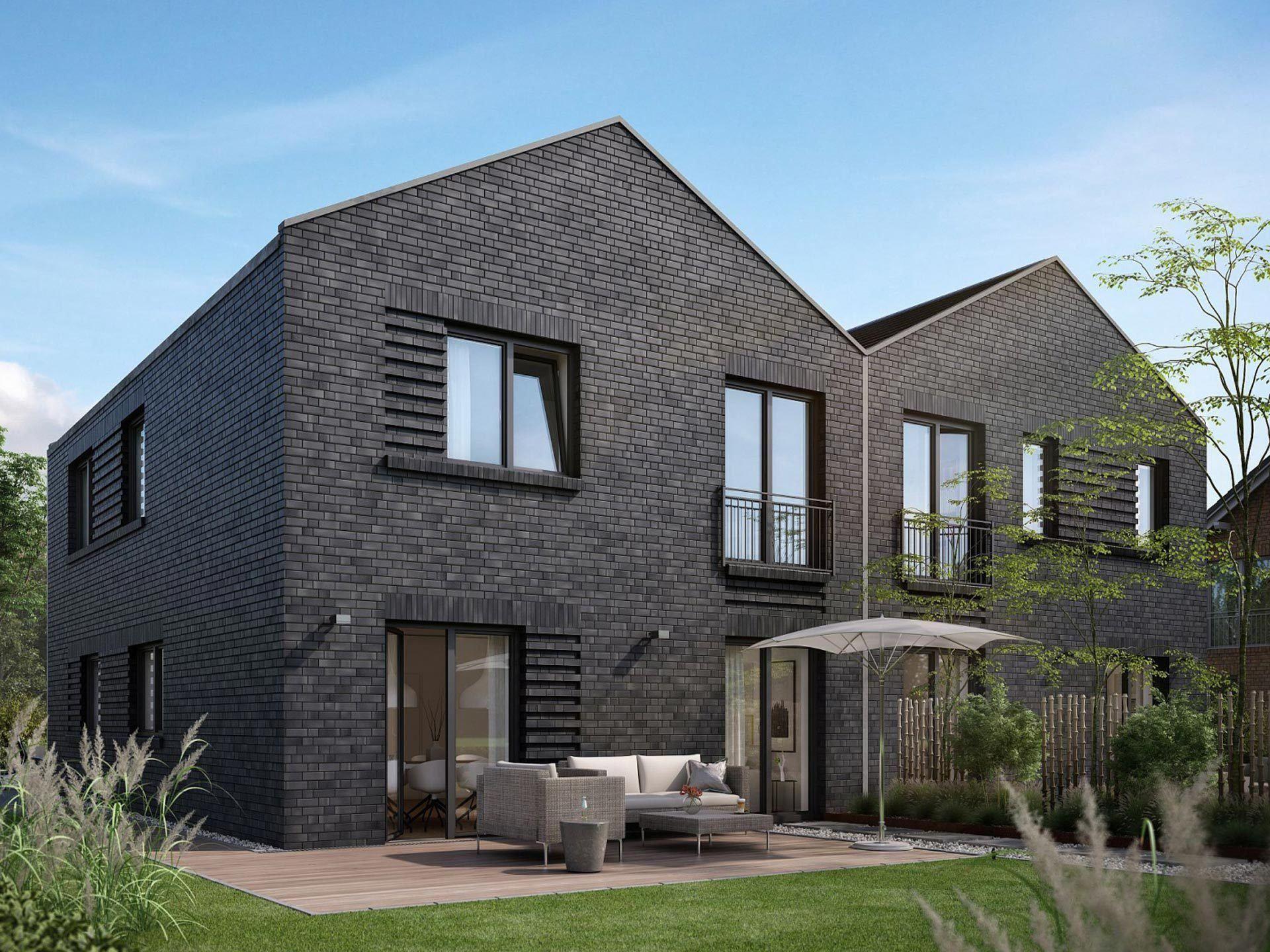 Iba haus modernart d musterhaus pinterest for Doppelhaus modern bauen