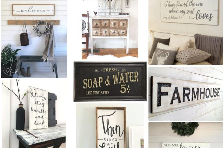 Rustic Modern Farmhouse Signs and Wall Art - Instant Farmhouse