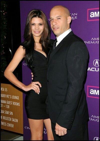 Wife Paloma Jiménez Vin Diesel Wife Celebrities Male Vin Diesel