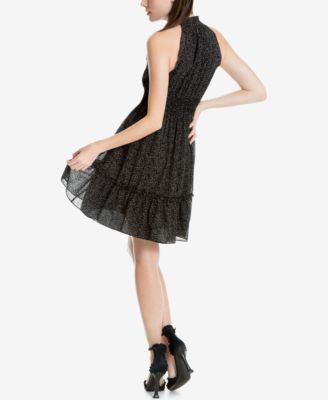 Max Studio London Printed Choker Dress 65380e0a1