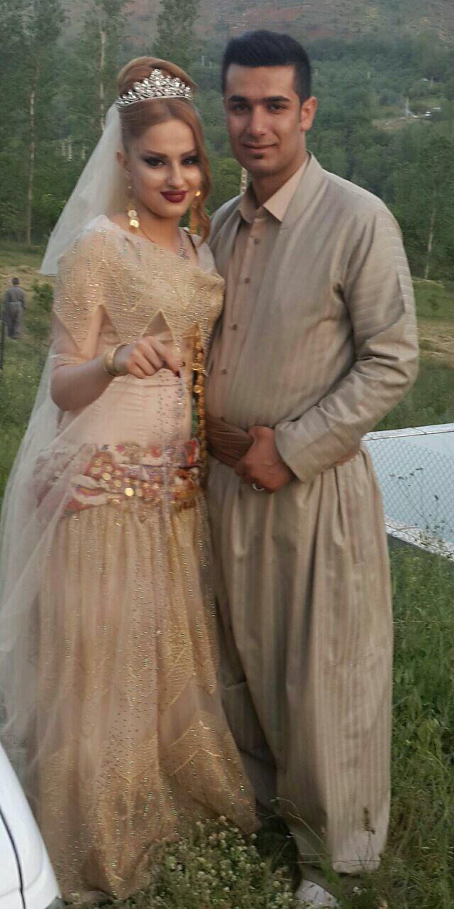 Kurdish dress/ clothes (sorani) rojhalat (Mahabad/sablax) for brides ...