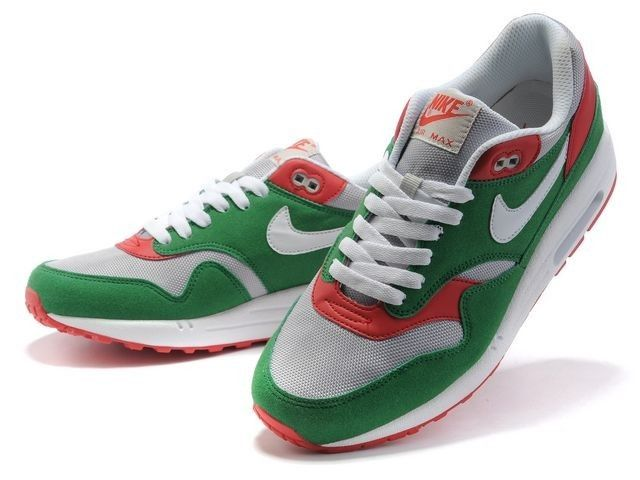 Mujer Nike Air Max 1 Premium zapatos de entrenamiento verde