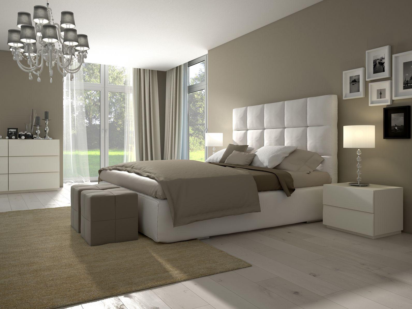La chambre baroque au style épuré  Deco chambre blanche, Deco