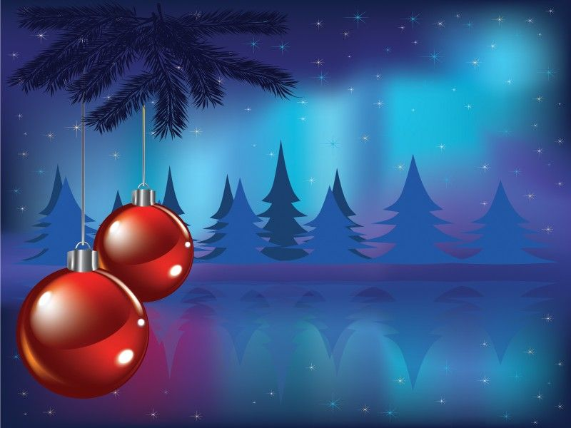 Christmas Card Powerpoint Template    wwwfreepptbackgrounds - christmas cards sample