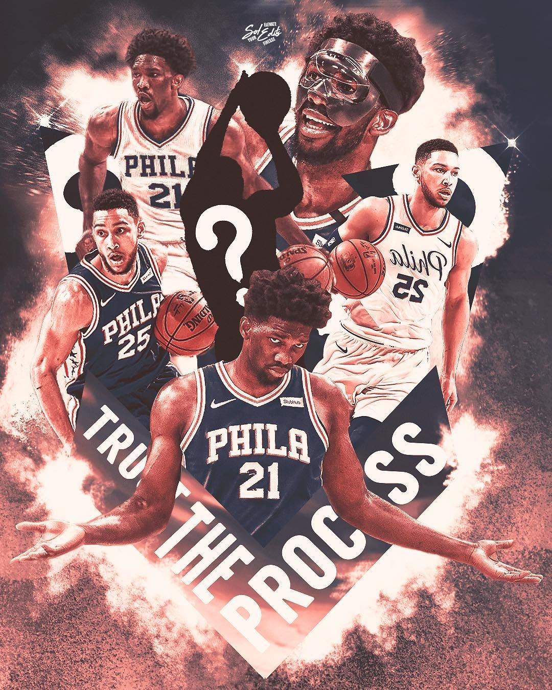 Pin By Marley Morebucks Davis On Nba Philadelphia 76ers Nba Art 76ers