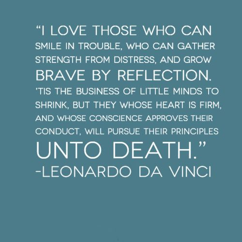 Retro Restyling Hitting Rock Bottom Quote Love Quotes Da Vinci