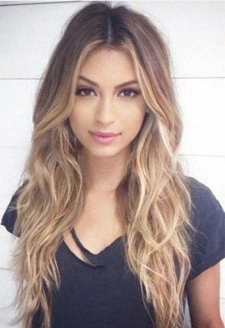 Frauen Frisuren Lange Haare Frisuren Pinterest