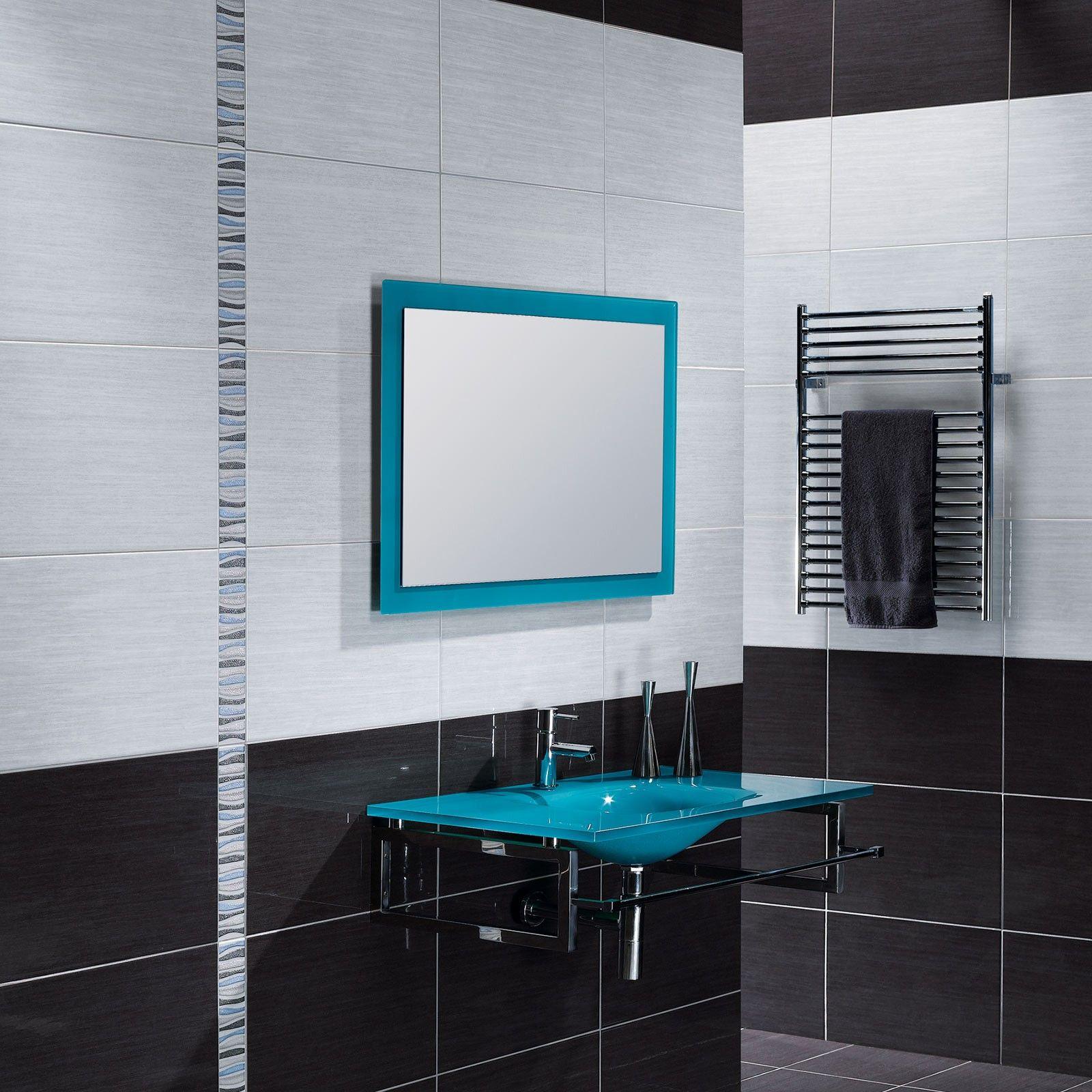 forum branco ceramic wall tile black and white bathroom. Black Bedroom Furniture Sets. Home Design Ideas