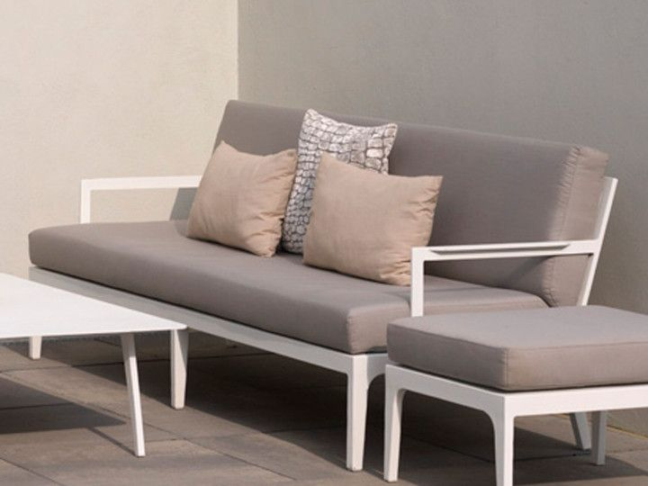 Lounge sofa garten grau  PARADISO Lounge Modul Ecke Loungegruppe Exotan | Teak & Nanotex ...