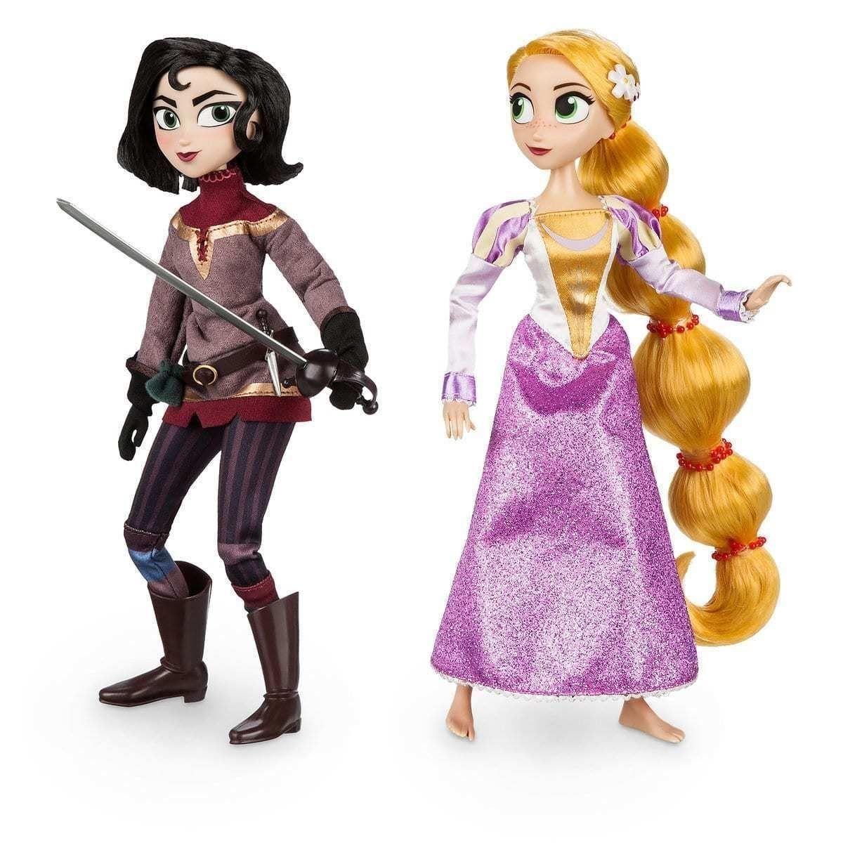 Набор кукол Дисней принцесса Рапунцель и Кассандра ...