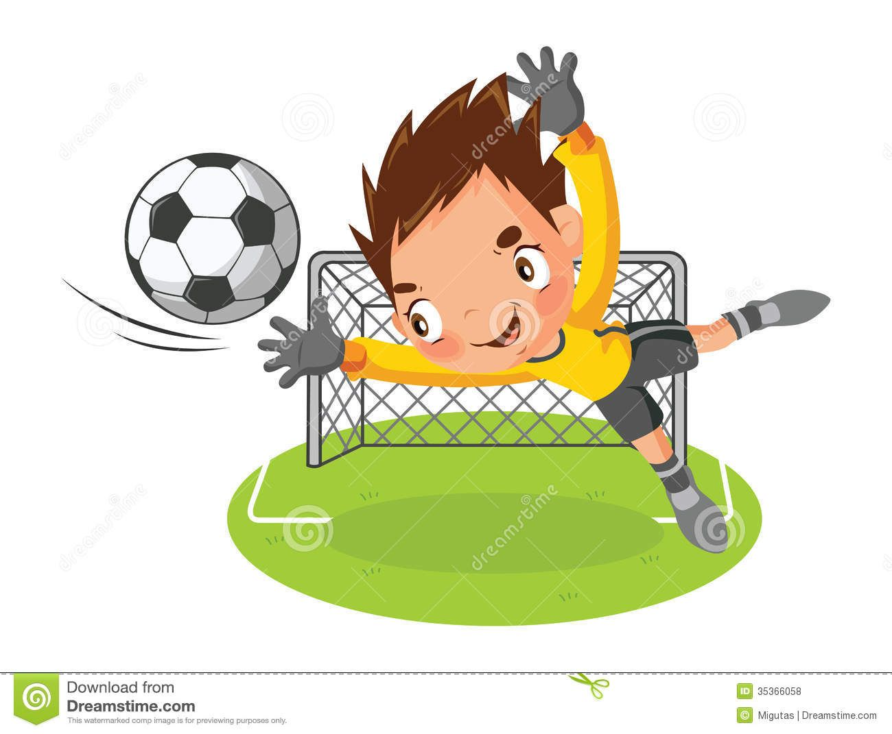 goalie clip Art   Goalkeeper Royalty Free Stock Photos ...