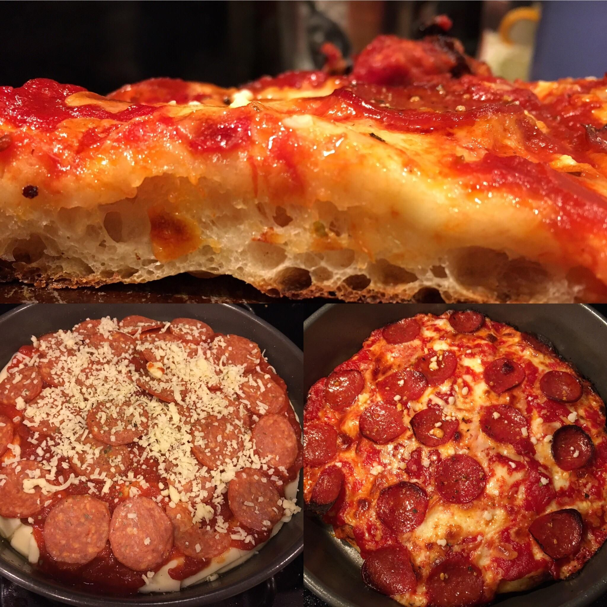 [Homemade] Detroit Style Pepperoni and Cheese Pizza. #recipes #food #cooking #delicious #foodie #foodrecipes #cook #recipe #health