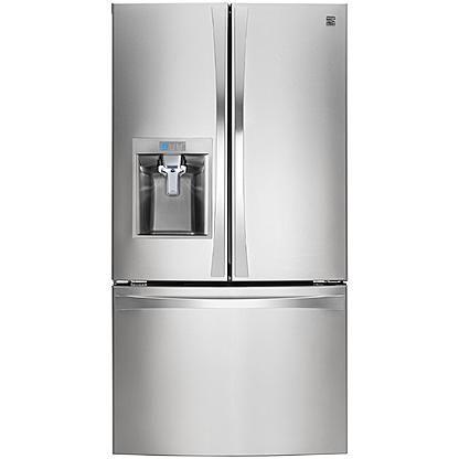 Kenmore Elite 30 Cu Ft French Door Bottom Freezer Refrigerator With Images French Door Bottom Freezer French Door Bottom Freezer Refrigerator Bottom Freezer Refrigerator