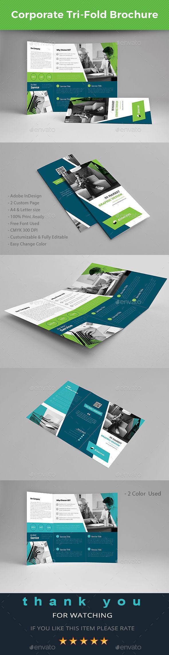 Tri-fold Brochure | Folletos