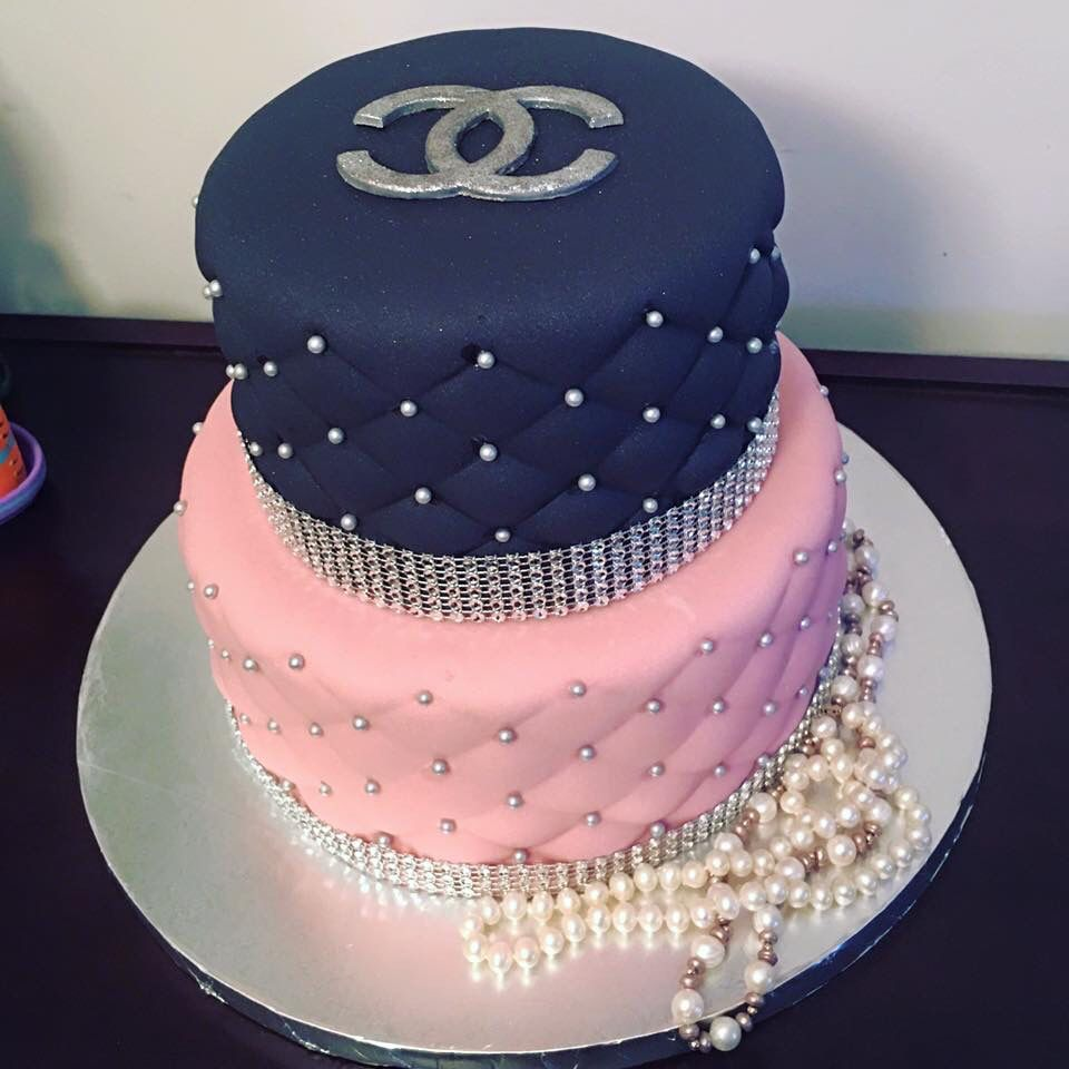 Coco Chanel Cake Lilia Adriana Rico Sweet Rose Cakes In